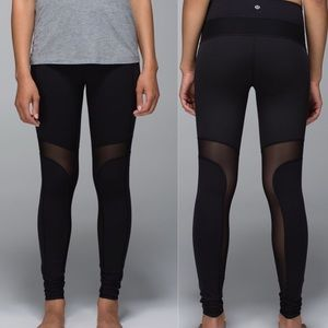 Lululemon Breathe Easy Pant Black Sz 2